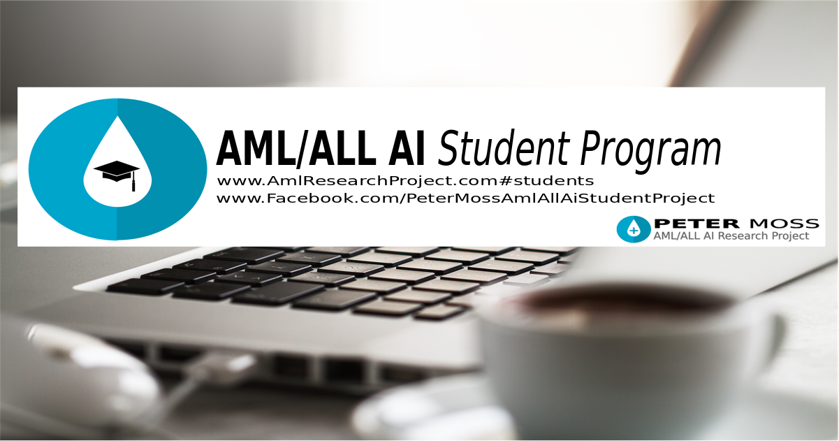 Peter Moss AML & ALL AI Student Program On Facebook